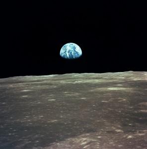 Erde vom Mond_Apollo 11