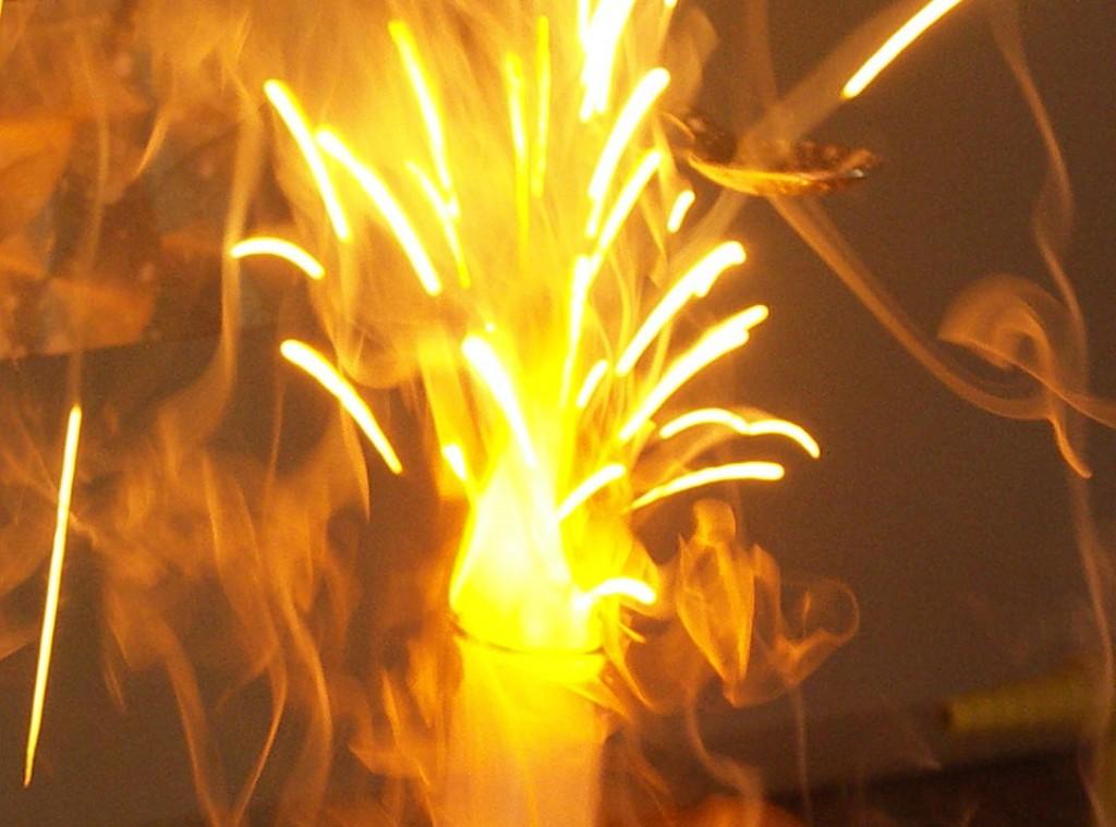 Natrium-Explosion